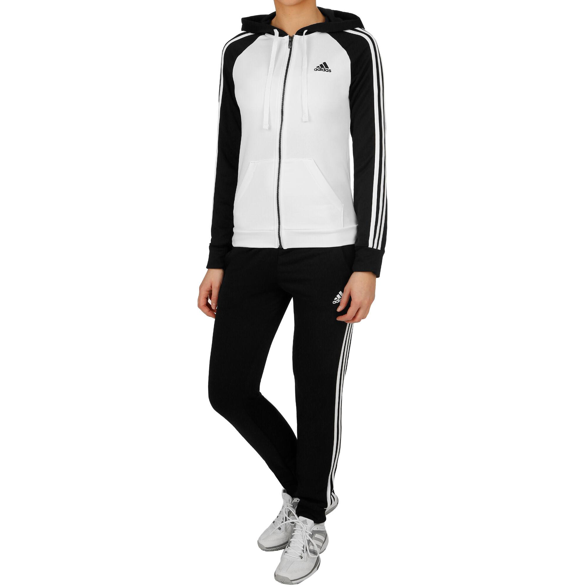 7b51cd2d1bd adidas Re-Focus Trainingspak Dames - Zwart, Wit online kopen ...
