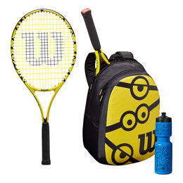 MINIONS TNS RKT 25/BACKPACK/BOTTLE - KIT