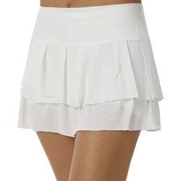 Wavy Pleat Tier Skirt Women