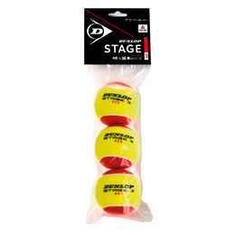 Mini Tennis Stage 3 Red, 3er (2019)