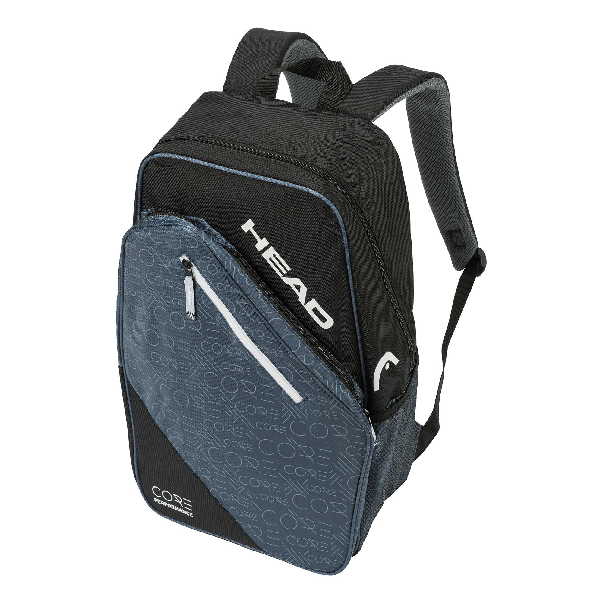 1327886b943 HEAD Core Backpack Rugzak - Zwart, Wit online kopen   Tennis-Point