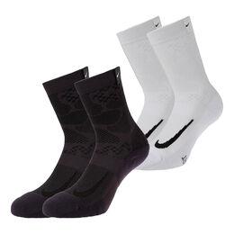 Court Multiplier Max Crew  Socks 2Pairs
