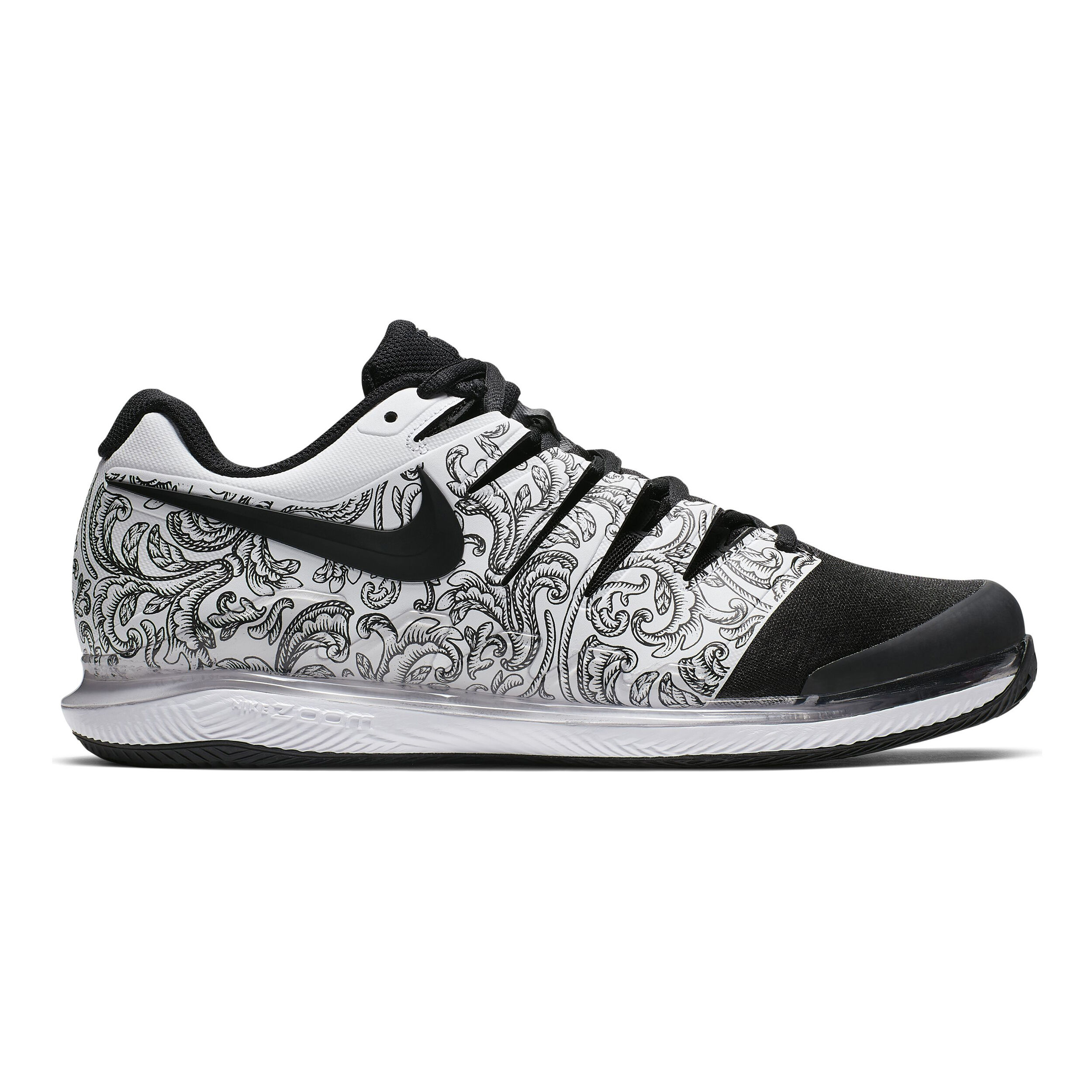 Nike Air Zoom Vapor X Clay Gravelschoen Heren - Wit, Zwart ...