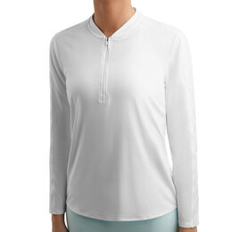 ***Court Dry 1/4-Zip Longsleeve Women