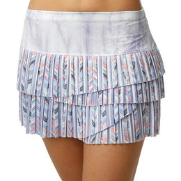 Purity Pleated Scallop Skirt Women