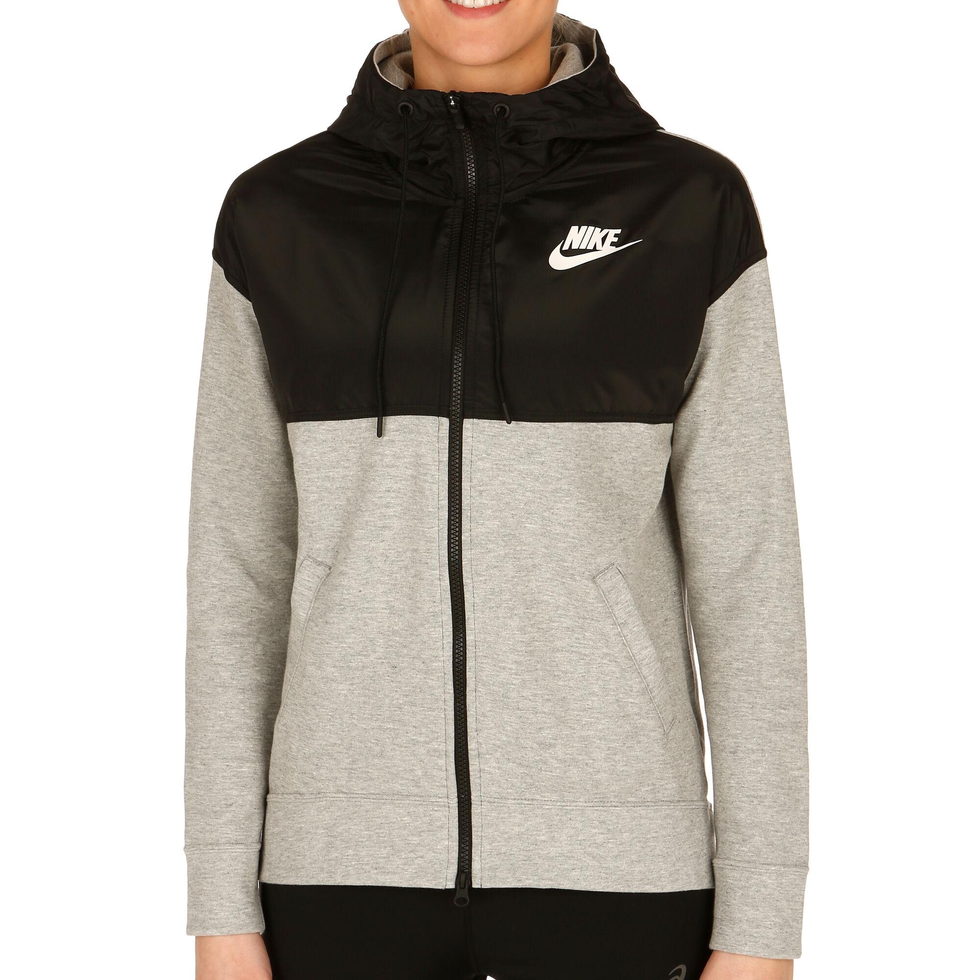 c13b25a7d38 Nike Advance 15 Sportjas Dames - Grijs, Zwart online kopen | Tennis ...