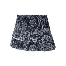 Bandana Smocked Skirt Women