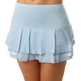 Pleat Tier Long Skirt Women